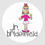 Jr. Bridesmaid Gifts and Favors Stickers