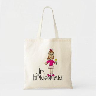 Jr. Bridesmaid Gifts and Favors Tote Bag