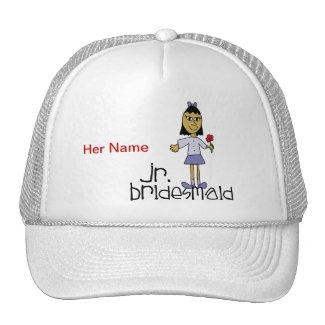 Jr. Bridesmaid Mesh Hat