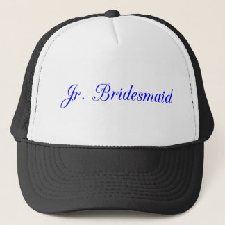 Jr. Bridesmaid's Trucker Hat