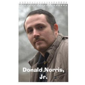 JR calendario de Donald Norris de la granja