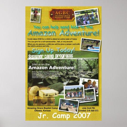 Jr. Camp Poster
