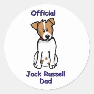JR dad Classic Round Sticker