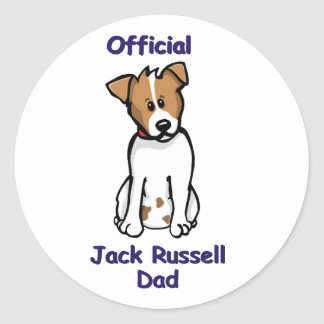JR dad Round Sticker