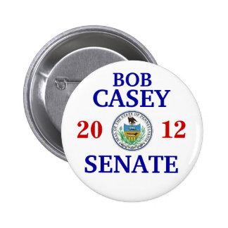 JR de Bob Casey PARA el SENADO Pin Redondo De 2 Pulgadas