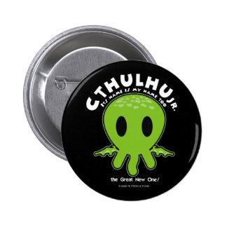 JR de Cthulhu - icono Pin Redondo De 2 Pulgadas