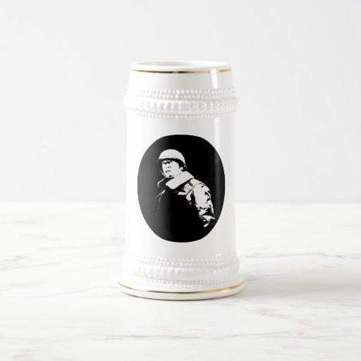 Jr. de George S. Patton Jarra De Cerveza