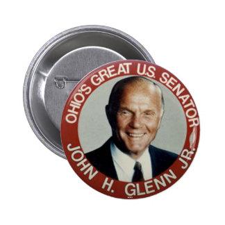 Jr. de John Glenn - Botón Pin Redondo De 2 Pulgadas