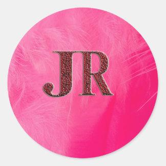 JR Fashion Round Stickers