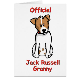 JR Granny Greeting Cards