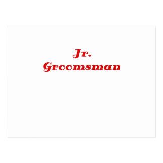 Jr Groomsman Postcard