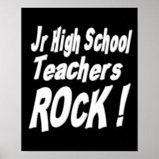 Jr High School Teachers Rock! Poster Print