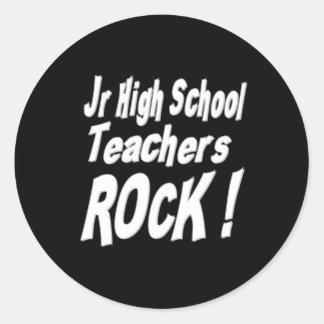 Jr High School Teachers Rock! Sticker