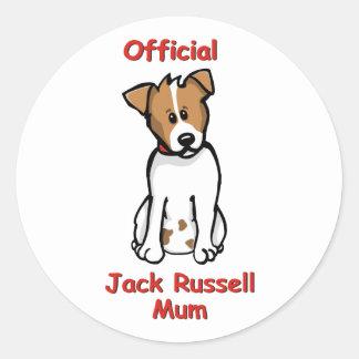 JR Mum Classic Round Sticker