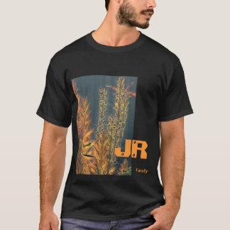 JR negro de deslumbramiento del áloe Playera