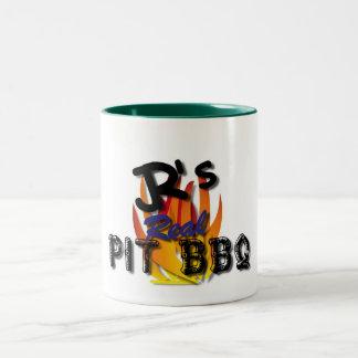 JRBBQmug Two-Tone Coffee Mug