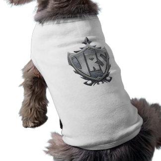 JRS: Camisetas sin mangas acanaladas del perrito Playera Sin Mangas Para Perro