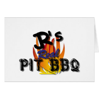 JR's Real Pit BBQ Gift Items Card