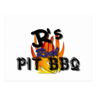 JR's Real Pit BBQ Gift Items Postcard