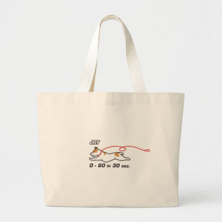 JRT 0-60 in 30 sec Jumbo Tote Bag