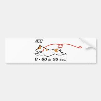 JRT 0-60 in 30 sec Car Bumper Sticker