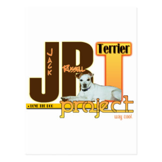JRT PROJECT - JACK RUSSELL TERRIER - LOVE THE DOG! POSTCARD