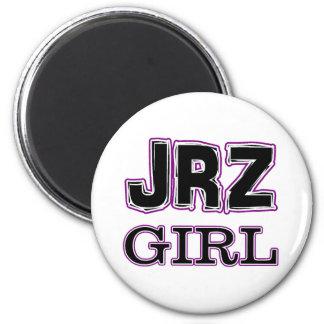 JRZ girl 2 Inch Round Magnet