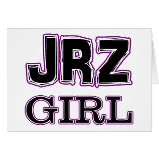 JRZ girl Greeting Card
