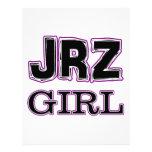 JRZ girl Letterhead