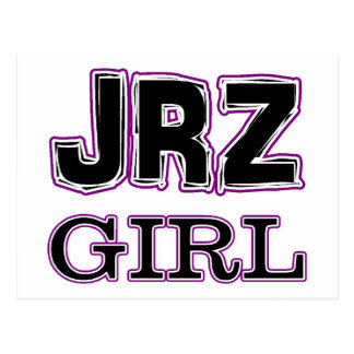 JRZ girl Postcard