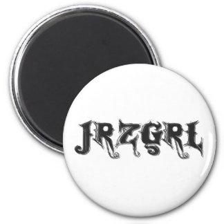 Jrzgrl Fridge Magnet
