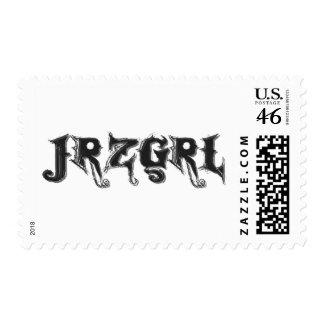 Jrzgrl Postage Stamp