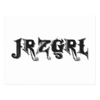 Jrzgrl Postcard