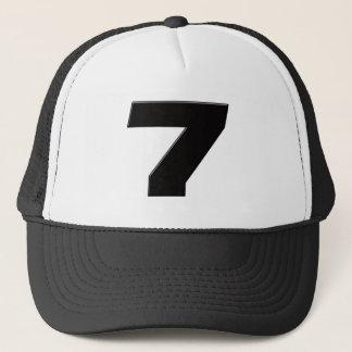 JS7blk Trucker Hat