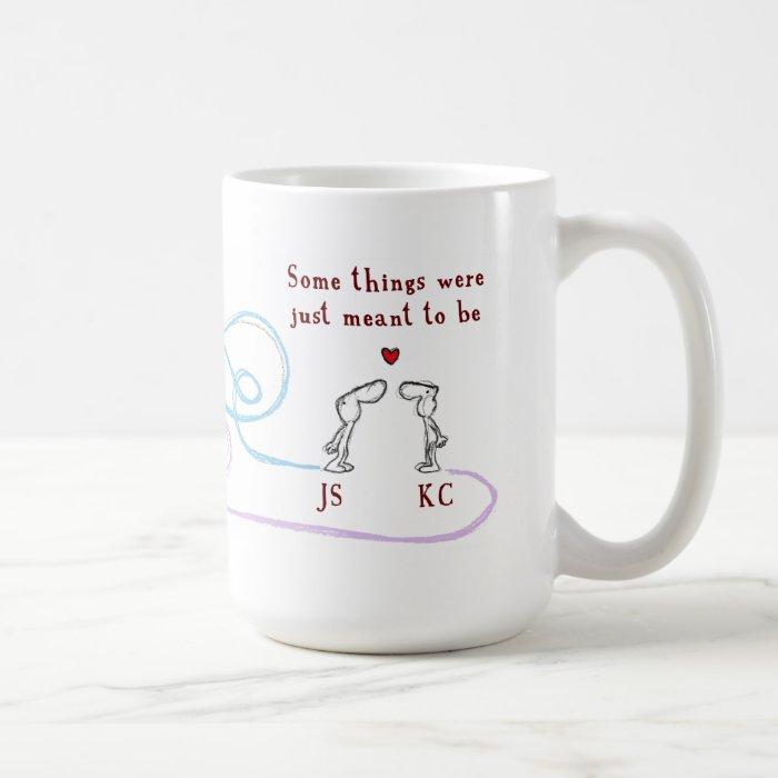 """""""JS heart KC"""" Coffee Mug"""