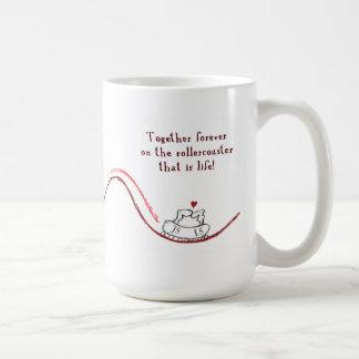 """""""JS LS"""" COFFEE MUG"""