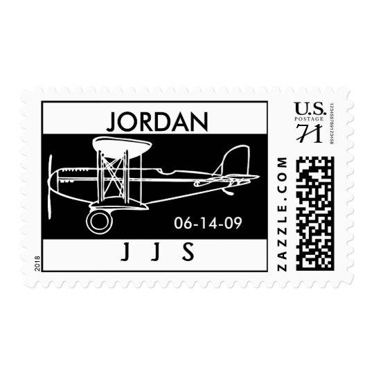 JS PLANE 3, JORDAN, 06-14-09, J   J   S POSTAGE