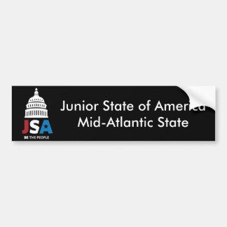 JSA Bumper Sticker Car Bumper Sticker