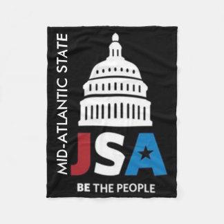 JSA Mid-Atlantic State Throw Blanket
