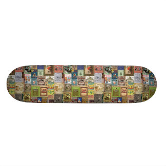 JSBC BOOK COVERS BOOKCOVERS COLLECTION COLORFUL AS SKATEBOARD DECK