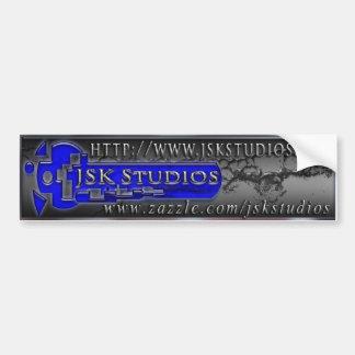 JSK Studios Bumper Sticker Car Bumper Sticker