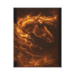JT11 judetoo Spirit Horse Canvas Prints