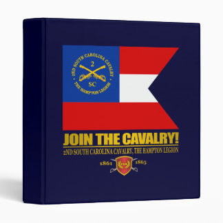 JTC (2nd South Carolina Cavalry) 3 Ring Binder