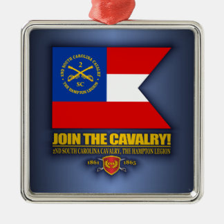 JTC (2nd South Carolina Cavalry) Metal Ornament