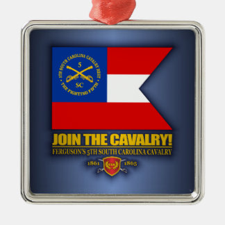 JTC (5th South Carolina Cavalry) Metal Ornament