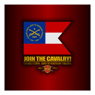 JTC (Cavalry Corps, Army of Northern Virginia) Poster