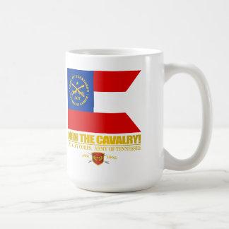 JTC (cuerpo de caballería, ejército de Tennessee) Taza Básica Blanca