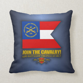 JTC (Mosby's Rangers) Throw Pillow