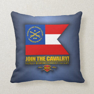 JTC (Nathan Bedford Forrest) Throw Pillow