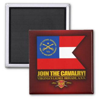 JTC (The Laurel Brigade) 2 Inch Square Magnet